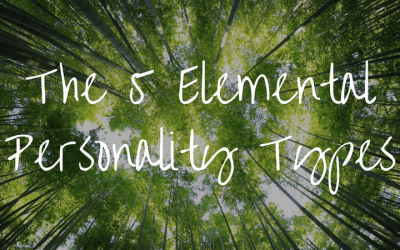 The 5 Elemental Personality Types